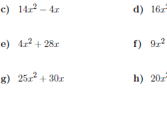 Factorising into single brackets worksheet (with answers)