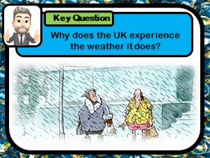 Explaining UK climate, Why does the UK experience the weather it does?