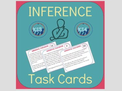 Inference Task Cards - Find Evidence to Support Your Ideas