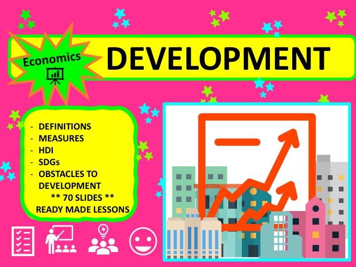 A Level Economics Economic Development