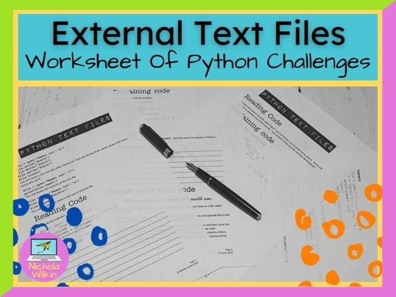 Python Text Files