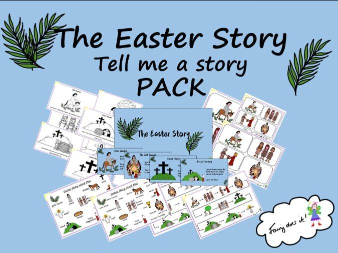 The Easter Story - Tell me a story PACK