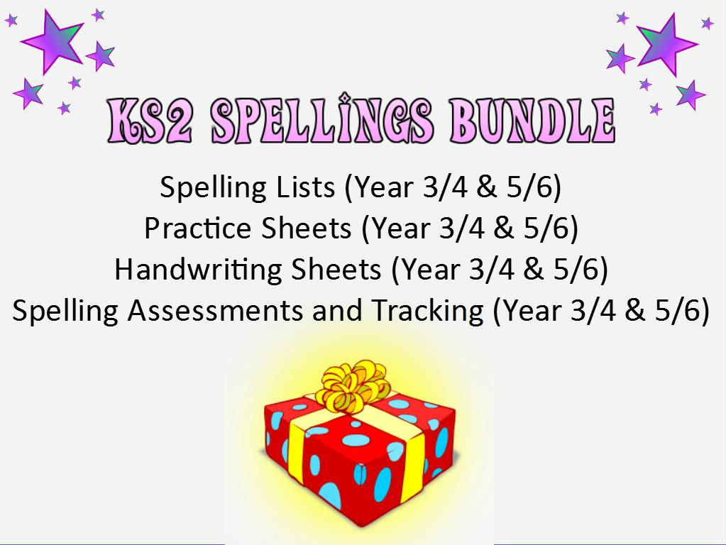 KS2: Spellings