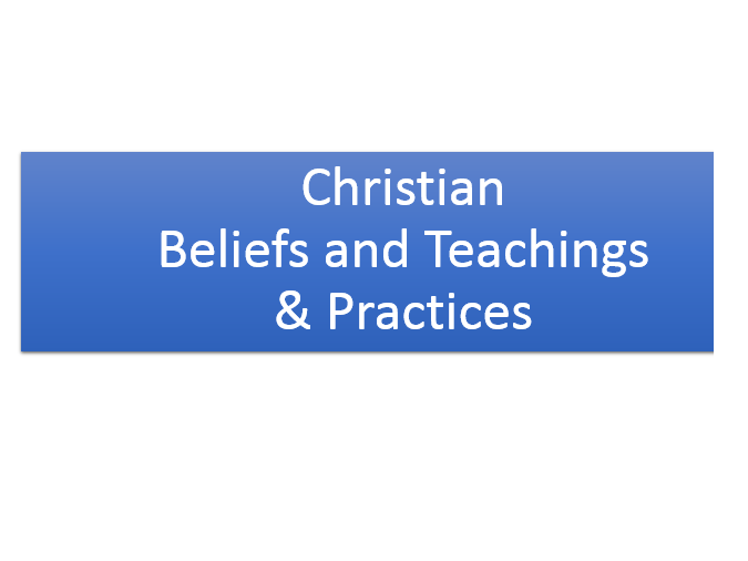 AQA Christianity Unit 1 Bundle
