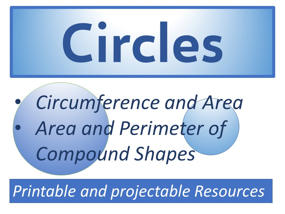 Circles (Presentation,Worksheet and Answers)