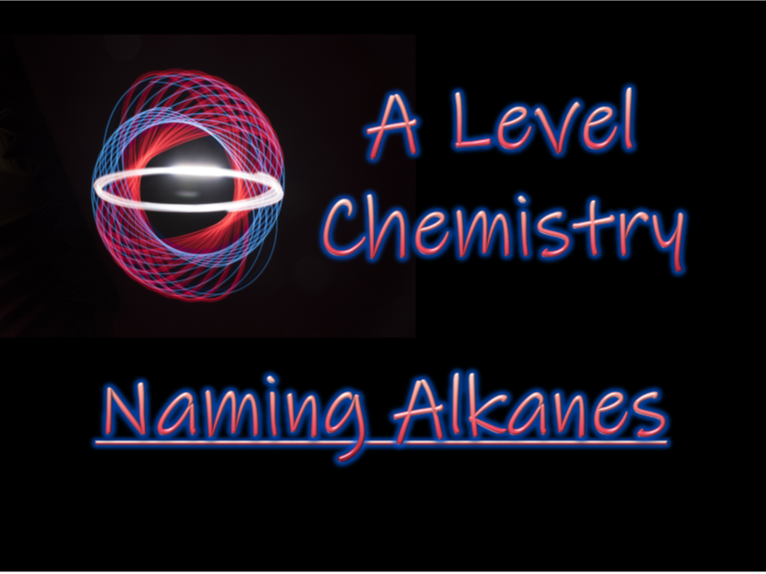 Naming Alkanes - A Level chemistry