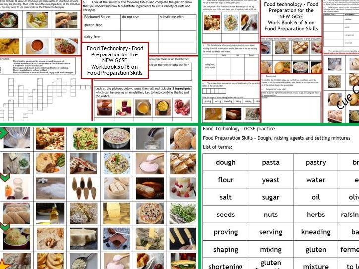 Food preparation aqa edexcel 8 page wkbk cue cards dough food preparation aqa edexcel 8 page wkbk cue cards dough raising agents setting mixtures by mosaik teaching resources tes forumfinder Gallery