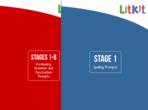 Teaching Prompts Booklets - Year 1 Spelling/Grammar Primary English Curriculum