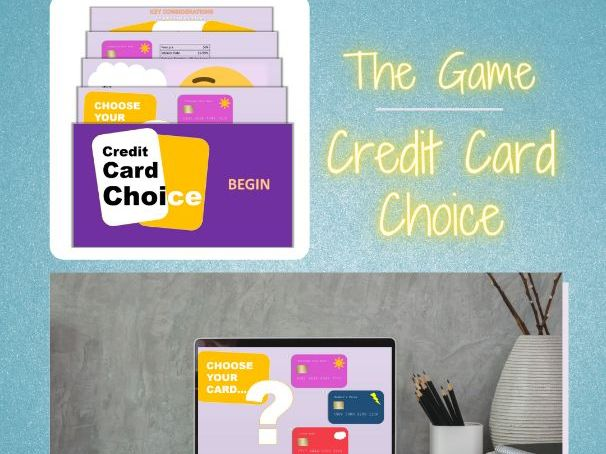Credit Card Choice - Interactive E-learning Game