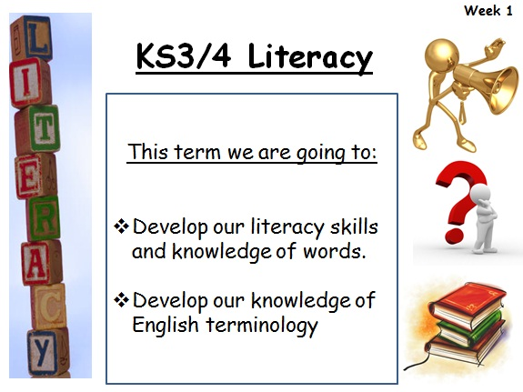 Literacy Form Time Resources