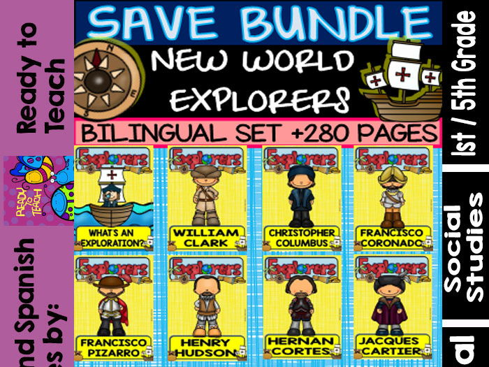 New World Explorers - Save Bundle - Bilingual