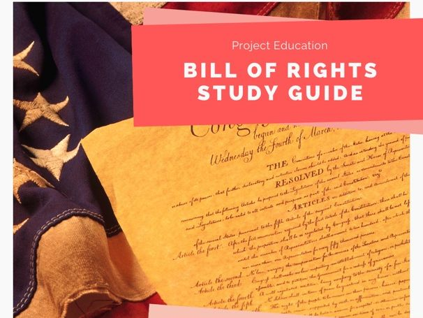 Bill of Rights Study Guide
