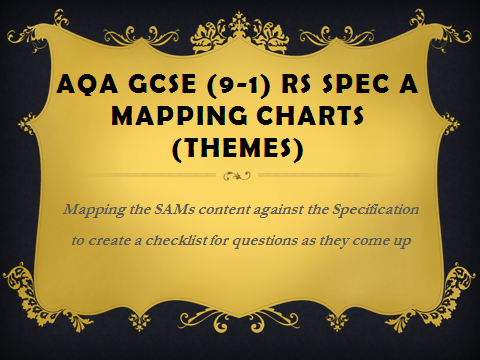 AQA GCSE (9-1) R Specification A - mapping charts for Themes SAMS