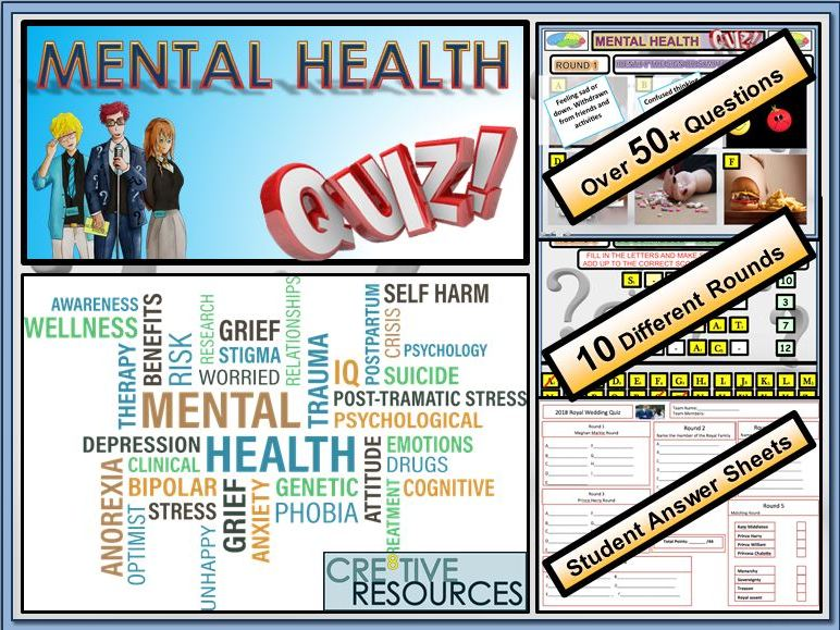 Mental Health Quiz Lesson