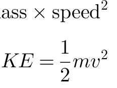 Kinetic energy - Physics GCSE