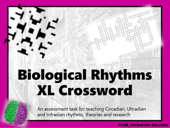 Biopsychology Crossword 7 - worksheet