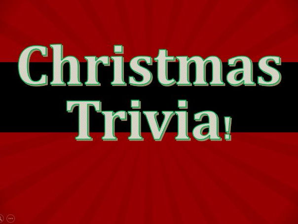 Christmas Trivia and Party Games Powerpoint