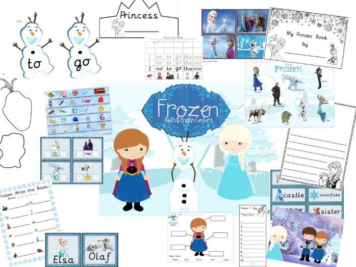 Frozen Literacy and Numeracy Centres