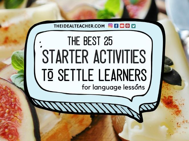 5-Minute Language Starters & Warmers