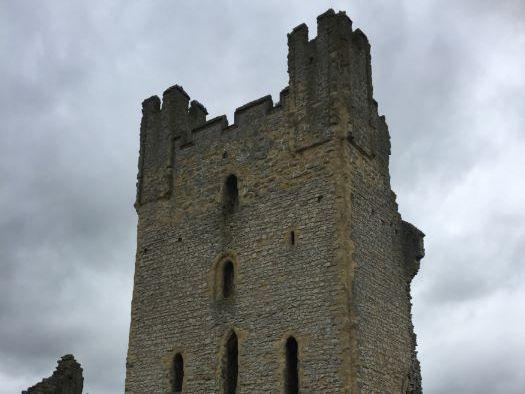 How did Castles develop? Keep Castles