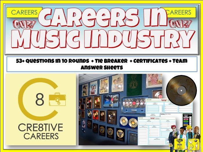 Music Industry Careers Quiz