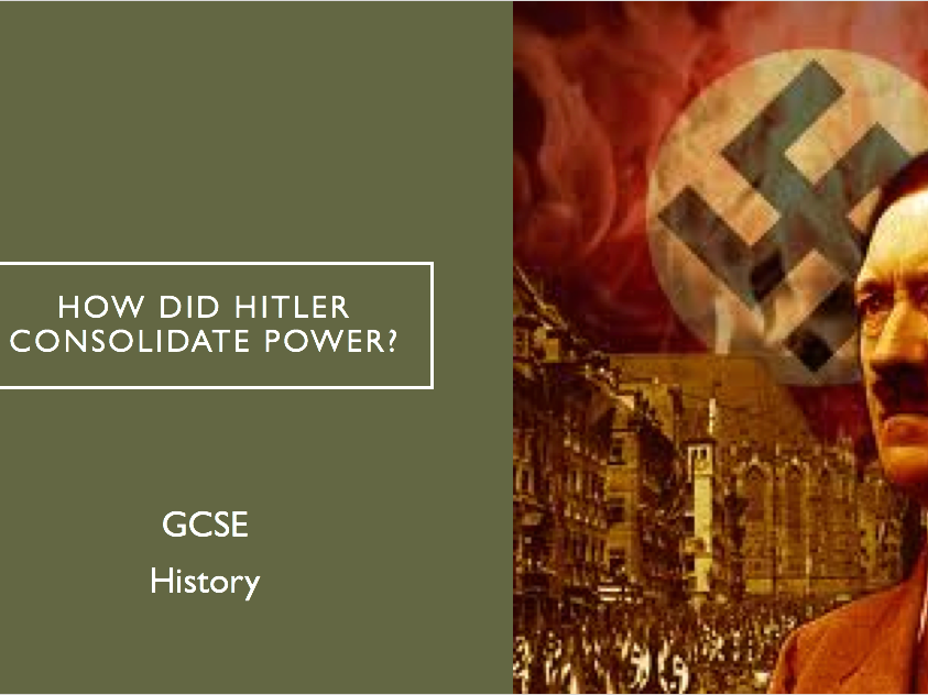 How did Hitler Consolidate his Power?