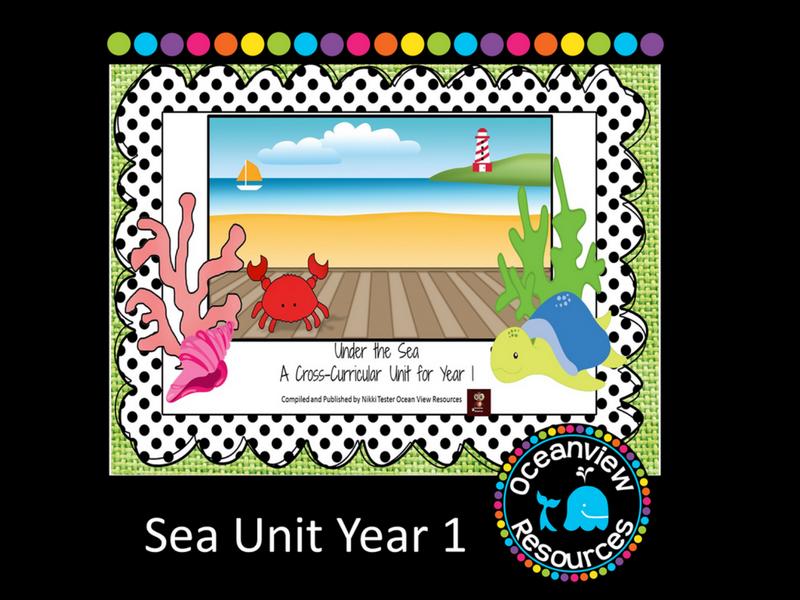 Year 1 Sea Themed Cross Curricular Unit