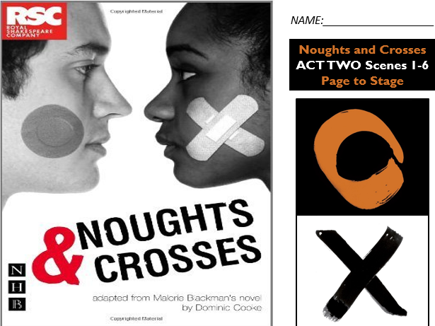 GCSE Drama Home Learning - Noughts and Crosses Act Two S1-5
