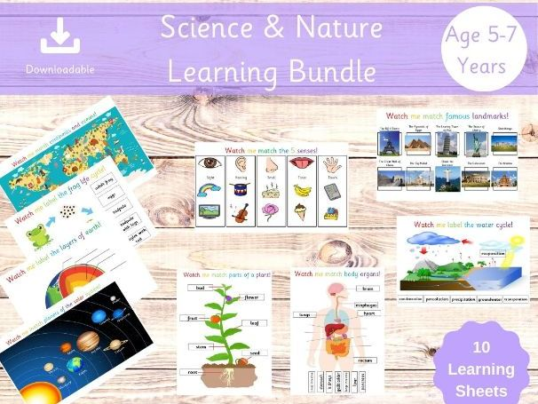 Science and Nature Learning Bundle - Key Stage 1