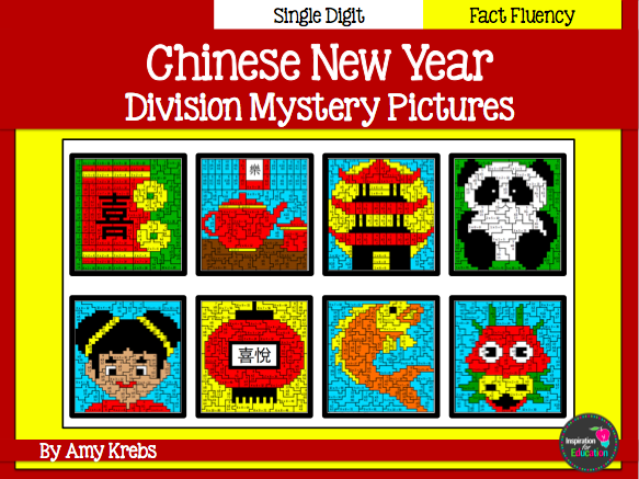 China Division Mystery Pictures (Chinese New Year)