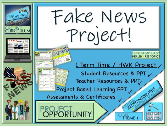 Fake News - Newspaper Project