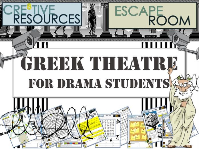Greek Theatre - Drama Escape Room