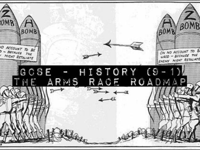 GCSE History(9-1) - Cold War - The Arms Race Roadmap