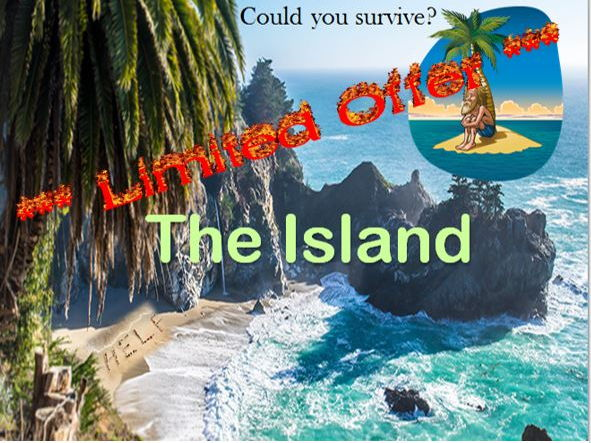 *** Limited Price Offer - The Island – Survival Diary Lesson ***