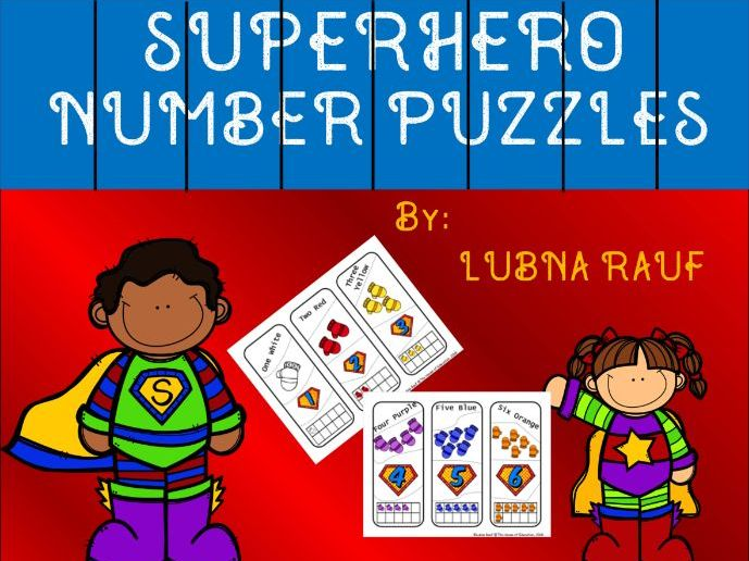 Number Puzzles with Colors