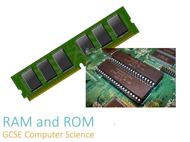 RAM and ROM - Teacher Presentation