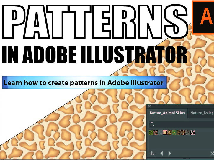 How to create patterns in Adobe Illustrator