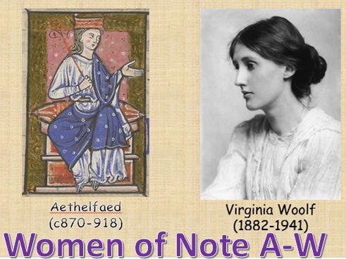 Women of Note (sample)