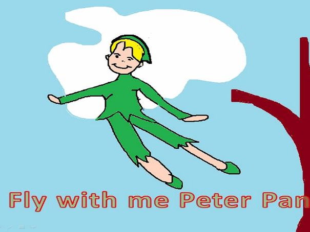 Fly With Me Peter Pan A Catchy Song With A Reggae Beat Easy To Use