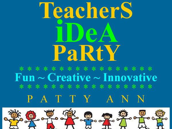 TeacherS iDeA PaRtY > Guided Innovative Ideas for Co-Creating Curricula!