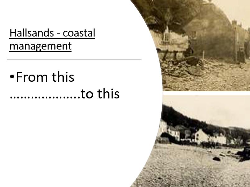 Hallsands Coastal Management case study (unintended consequences)