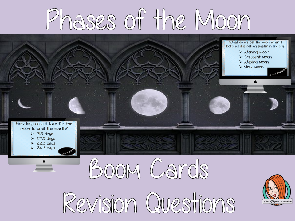 Phases of the Moon Revision Questions