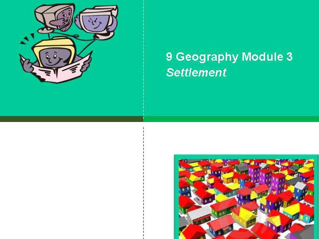 Settlement Geography