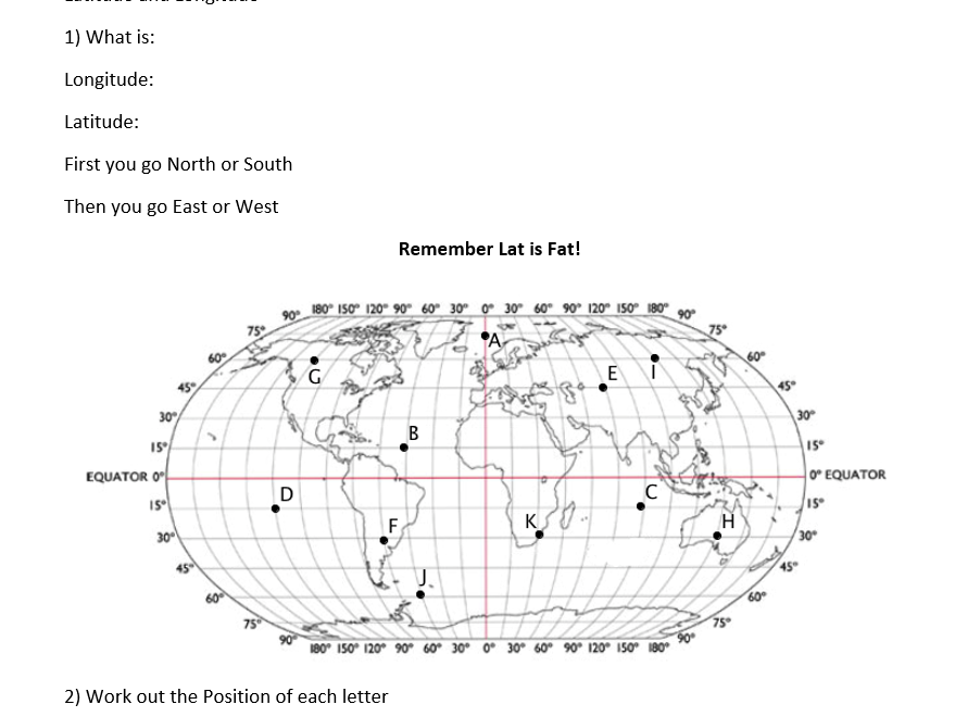 AQA Geography 9-1 Skill Check Questions Unit 3