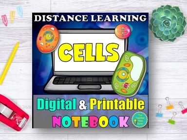 Cell Structure and Function Biology Distance Learning Notebook