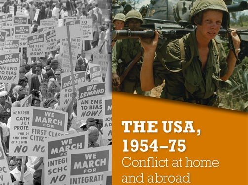 Civil Rights paper 3 Edexcel 9-1 GCSE History scheme of work and resources (USA at home and abroad)