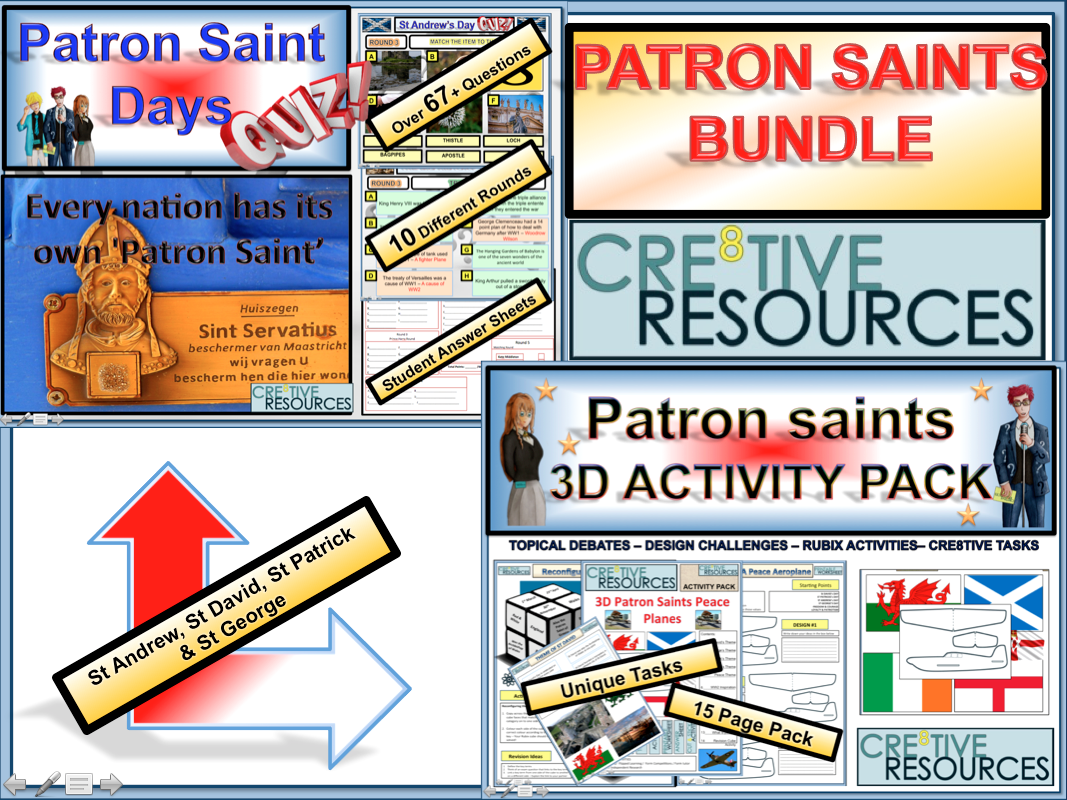 Patron Saints Day Bundle