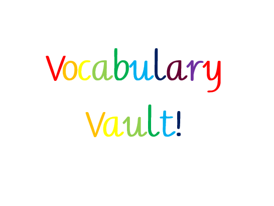 Vocabulary Vault