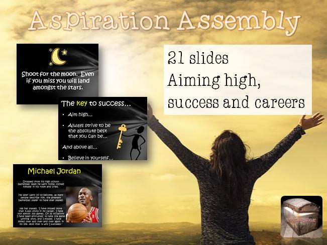 Aspirations Assembly for KS1/KS2