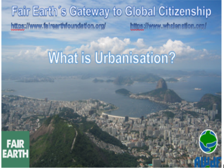 Urbanisation - Fair Earth Resources